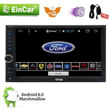 Double 2 Din Android 6.0 Car Stereo Touch In Dash GPS Radio Wifi 3G Bluetooth Car Stereo Autoradio GPS Navigation 2Din Head Unit