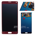 Wholesale 100% Original good working for Samsung Galaxy Note 4 lcd n910f n910p n910c LCD Digitizer freeshipping