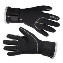 3 мм неопреновые перчатки для плавания, перчатки для плавания, оборудование для подводного плавания, сохраняющее тепло от царапин, гидрокостюм, материал для зимнего плавания, подводной охоты