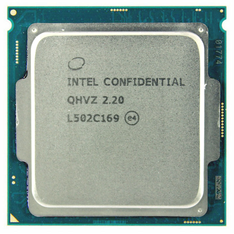 Intel core i5 version d'ingénierie ES CPU QHVZ 2.2G 35 W quad core quad-core 4 fils CPU GRAPHICS CORE HD530