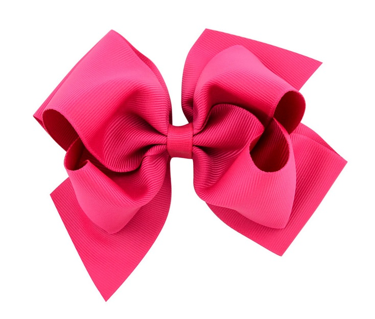 "Hairbow 100 BLESSING Good Girl 3.5/"" Double ABC Organza Hair Bow Clip 88 No"