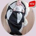 2016 Новый Ребенок Спальный Мешок Ребенка Спальный Мешок Полный Хлопок Обнять Акула Спальный Мешок Русалка Одеяло
