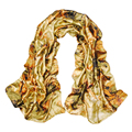 2015 New Arrival Autumn Winter Style Brand Silk Scarf Women Print Scarves Shawls hijab WJ-175