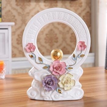European ceramics crafts Bogu frame Feng Shui decorations ornament home decor mascot art porcelain figurines opened gift