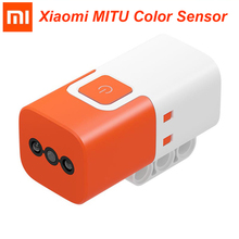 Xiaomi MITU Color Sensor for Mitu DIY Building Blocks Robot Orange White Color Xiaomi smart home Freeshipping