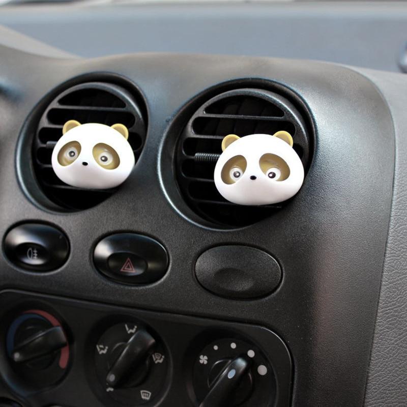 FREE SHIPPING Panda Eyes brown color air conditioning pafume