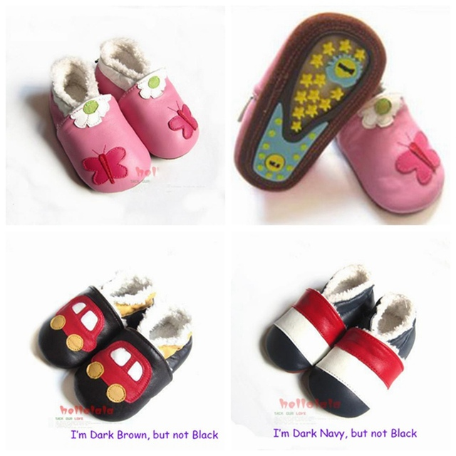 Розничная ручной теплый флис кожаные ботинки малышей детские первые ходоки для мальчик девочка детская обувь новорожденного Bebes продукты