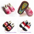 Retail Handmade Warm Fleece Leather Kids Shoes Baby First Walkers for Boy Girl Children's Footwear Newborn Infant Bebes Products