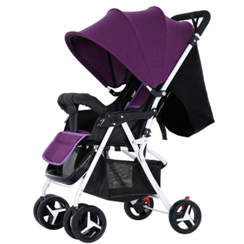 baby carriage High landscape stroller baby trolley lightweight stroller for baby pram baby stroller Multi-angle