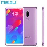 Фирменная Новинка MEIZU M8 связь LTE 4G, мобильный телефон, 4 Гб Оперативная память 64 Гб Встроенная память MT6762 Octa Core 5,7 12MP + 5MP Камера Android 8,0 MEIZU V8 V8Pro