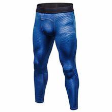 Deporte Pantalones deportivos de compresión fitness hombres corriendo  medias gimnasio ropa fútbol baloncesto entrenamiento polainas S ce3c878c88d59