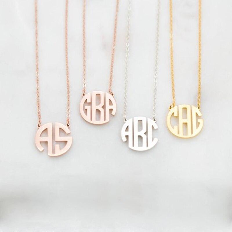 de01c8e922d Nombre personalizado collares para mujeres placa joyería de acero  inoxidable collar mariposa Cruz corazón colgante de
