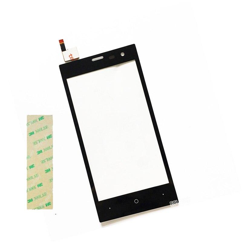 4 5 Touch Panel Touchscreen For Highscreen Zera S rev s Front Glass Sensor Touch Screen