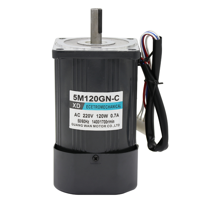 AC220V 50HZ 120W 1400/2800RPM Permanent Magnet Speed Control Motor Suitable for mechanical equipment, power tools,DIY power,etc. ac220v 50hz 25w 1400 2800rpm permanent magnet speed control motor suitable for mechanical equipment power tools diy power etc