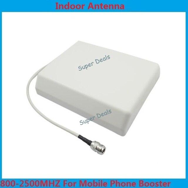 800-2500 mhz antena painel interior, painel de antena interna para GSM/3G CDMA, DCS repetidor de sinal de celular 2 pçs/lote