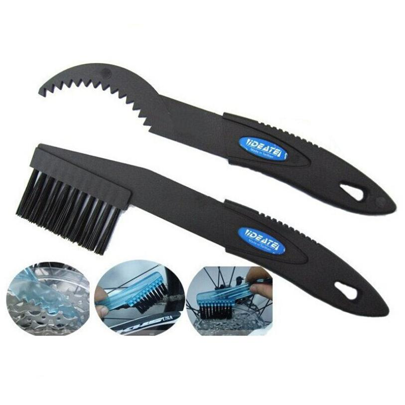 New Arrival Cycling Bike Bicycle Chain Wheel Cleaning Cleaner Scrubber Brush Tool Kit Ride Lover Bike Accessories Useful Cleaner
