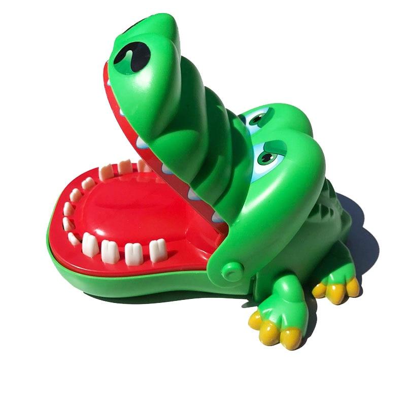 Novelty Creative Alligator Hand Childrens Toys Family Games Classic Biting Hand Crocodile Game for Kids Children Gift