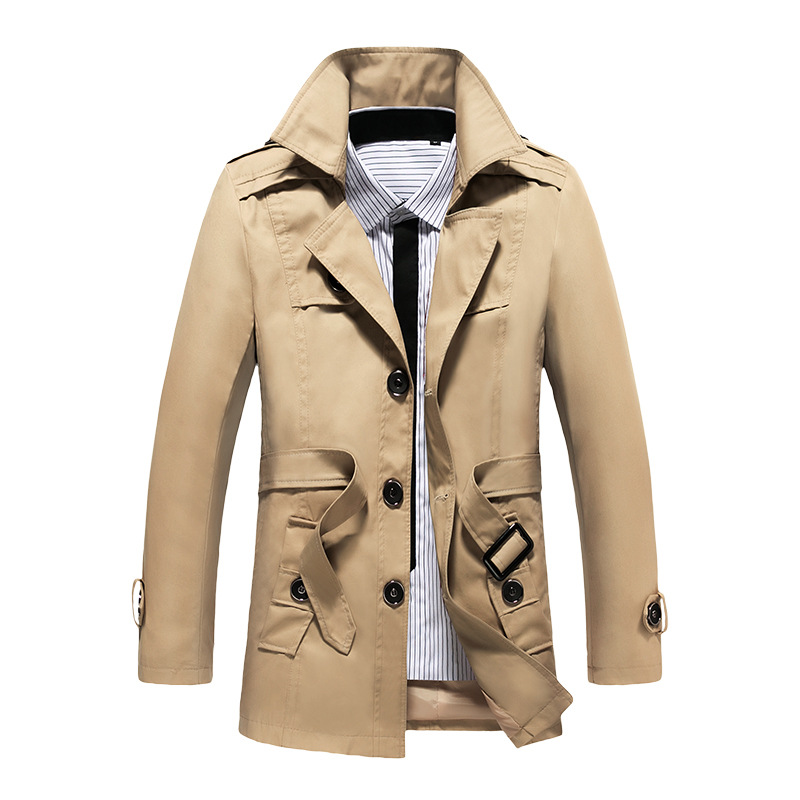 Fashion Mens Winter Trench Coats Long Coat Jacket Hooded ...   Mens Trench Coat With Hood