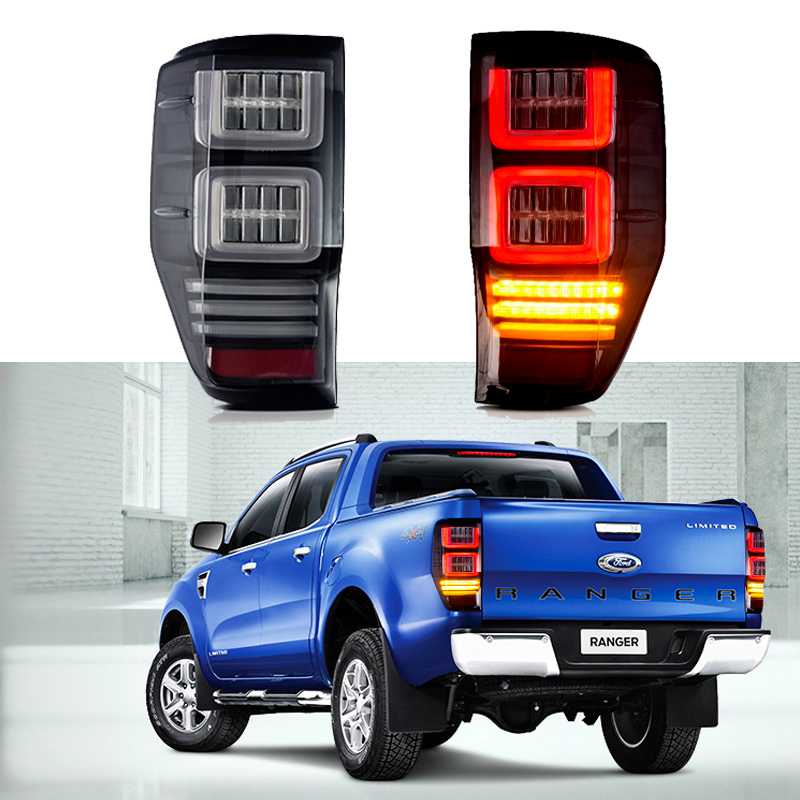 LED Tail Lamp for Ford Ranger 2012 2015 2016 2017 2018 2019 Left Right LED Tail