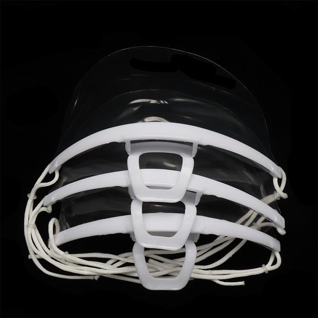 Μάσκα προστασίας προσώπου πολλαπλών χρήσεων d1 Σετ 10 τμχ