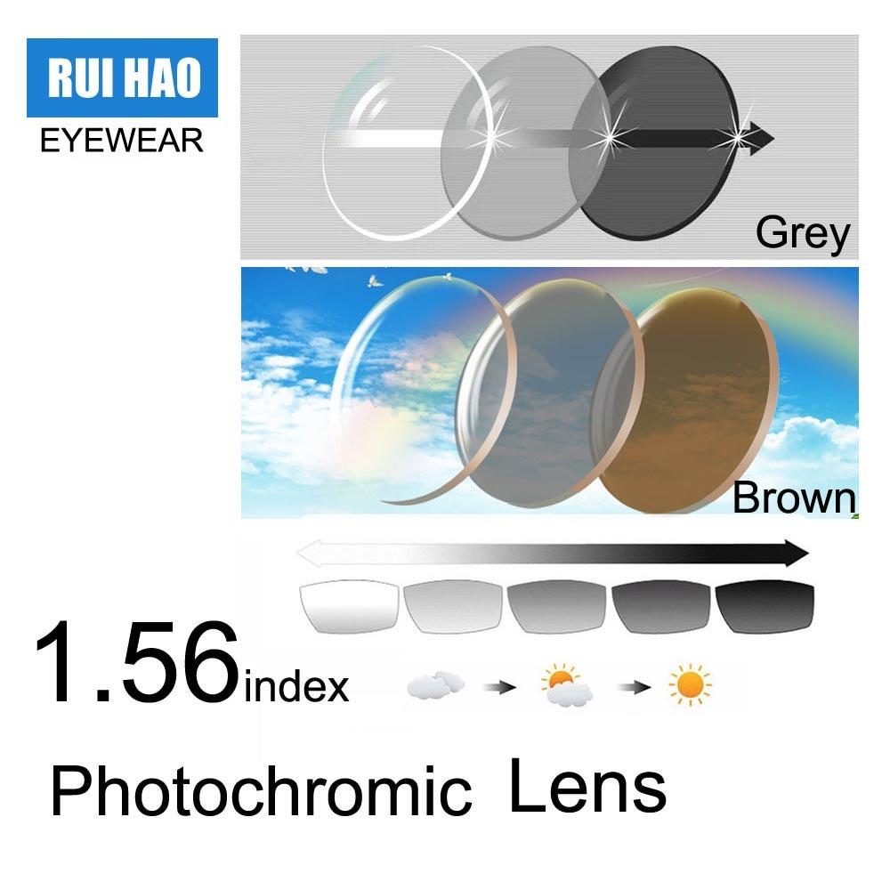1.56 Photochromic Lenses 1.553 index Photochromic ...
