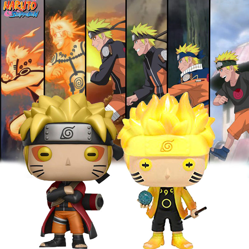 Japan Anime Naruto Action Figures Immortal Cartoon Doll Action Figure PVC Bobble Head Q Edition For Decoration Collectible Toy immortal unchained