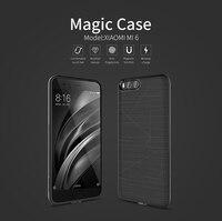 For Xiaomi Mi6 Case NILLKIN Magic Wireless Charging Receiver Phone Case For Xiaomi Mi 6 Wireless