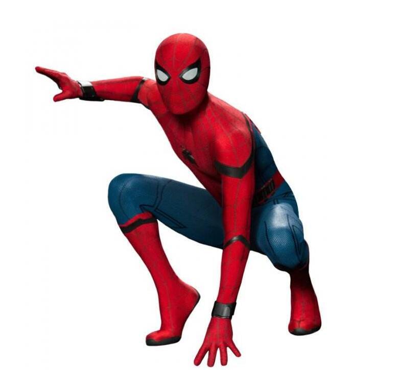 2018 Movie Spider Man Homecoming Costume Adult Kids Spiderman Cosplay Costume Halloween Cool Superhero Spandex Zentai Suit