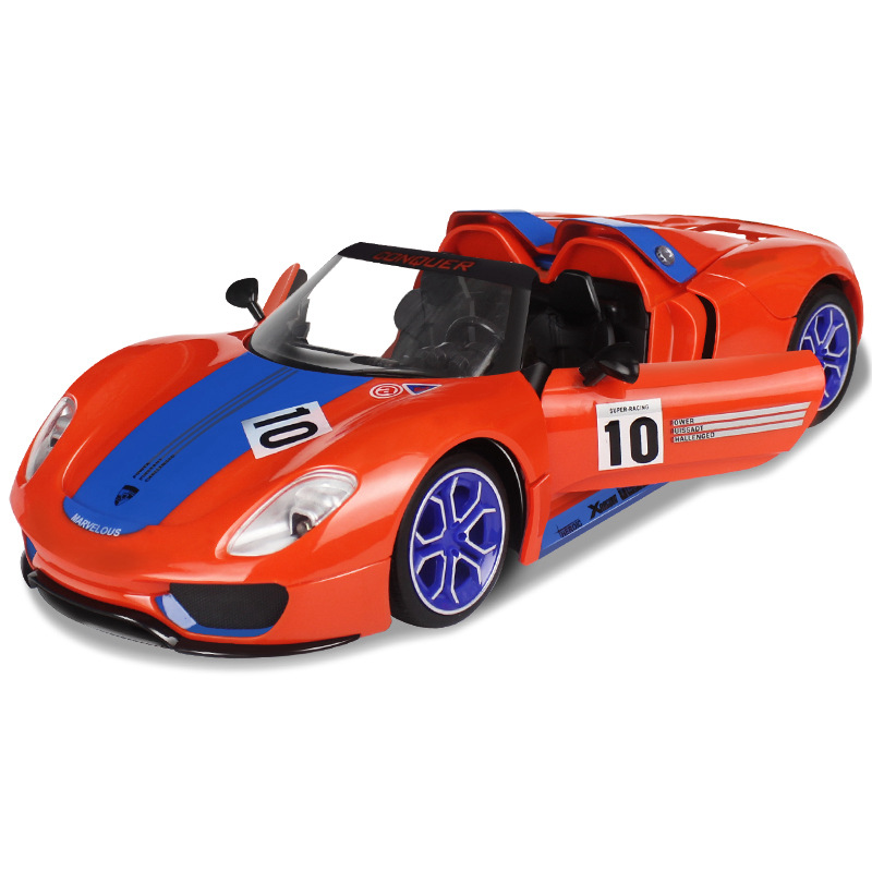 rally car with a key to open the door automatically Shoupeng simulation remote control car , remote control cars,rc car,RC TOY