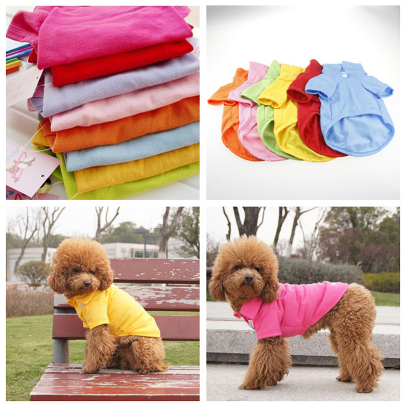 Pure-Color-Dog-Polo-T-Shirt-Cotton-Dog-Clothes-Spring-and-Summer-Vest-for-Teddy-Puppy (3)