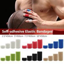 Спортивный защитный эластичный бинт цветной самоклеющийся бинт мышечная лента для пальцев суставов обертывание аптечка