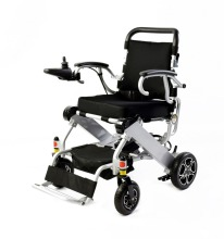 2019 N/W: 19.8KG Aluminum alloy folding lightweight power electric wheelchair for disabled people