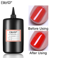 Elite99 250ml Metallic Reinforce Matt Top Base Coat Air Dry Primer Wipe & No Wipe Soak Off UV Gel Polish Gel Varnishes Nail Art