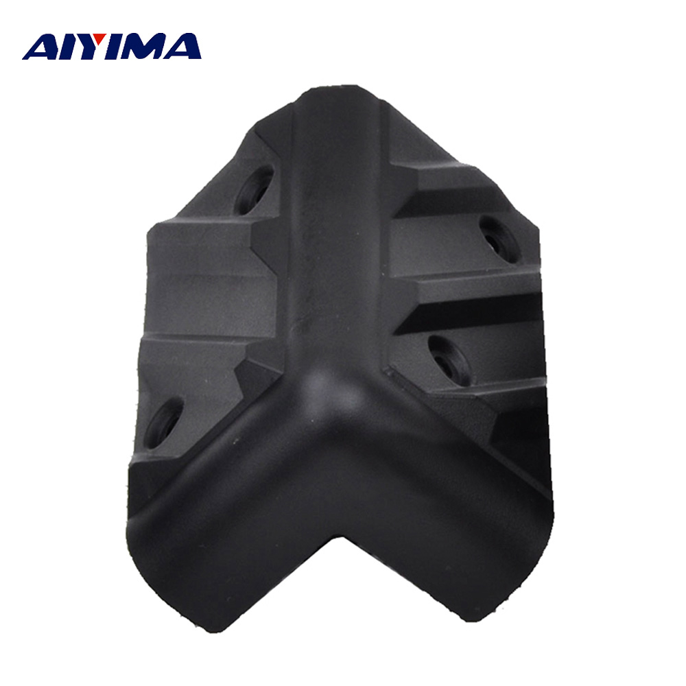 AIYIMA 8Pcs Audio Active Speakers Protection Angles Cases Sound Box Speaker Repair Parts Accessories Home Theater Sound System