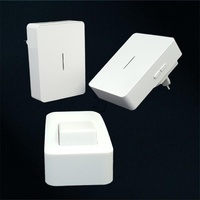 120m Waterproof Doorbell Whith No Battery 38 Chimes Wifi Door Bell That 2 Receivers 1 Button