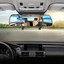 Стильный Автомобильный видеорегистратор HD, 1080 P, ультра тонкий, HD 2,7 '', ЖК-дисплей, g-сенсор, видеорегистратор, зеркало заднего вида, камера DVR