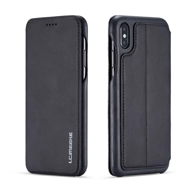 HTB13OraX5LrK1Rjy1zdq6ynnpXau Original Flip Wallet Leather Business Retro Book Design Magnetic For iphone XS Max XR XS X 6 6S 6Plus 7 8 7Plus 8Plus  JS0715