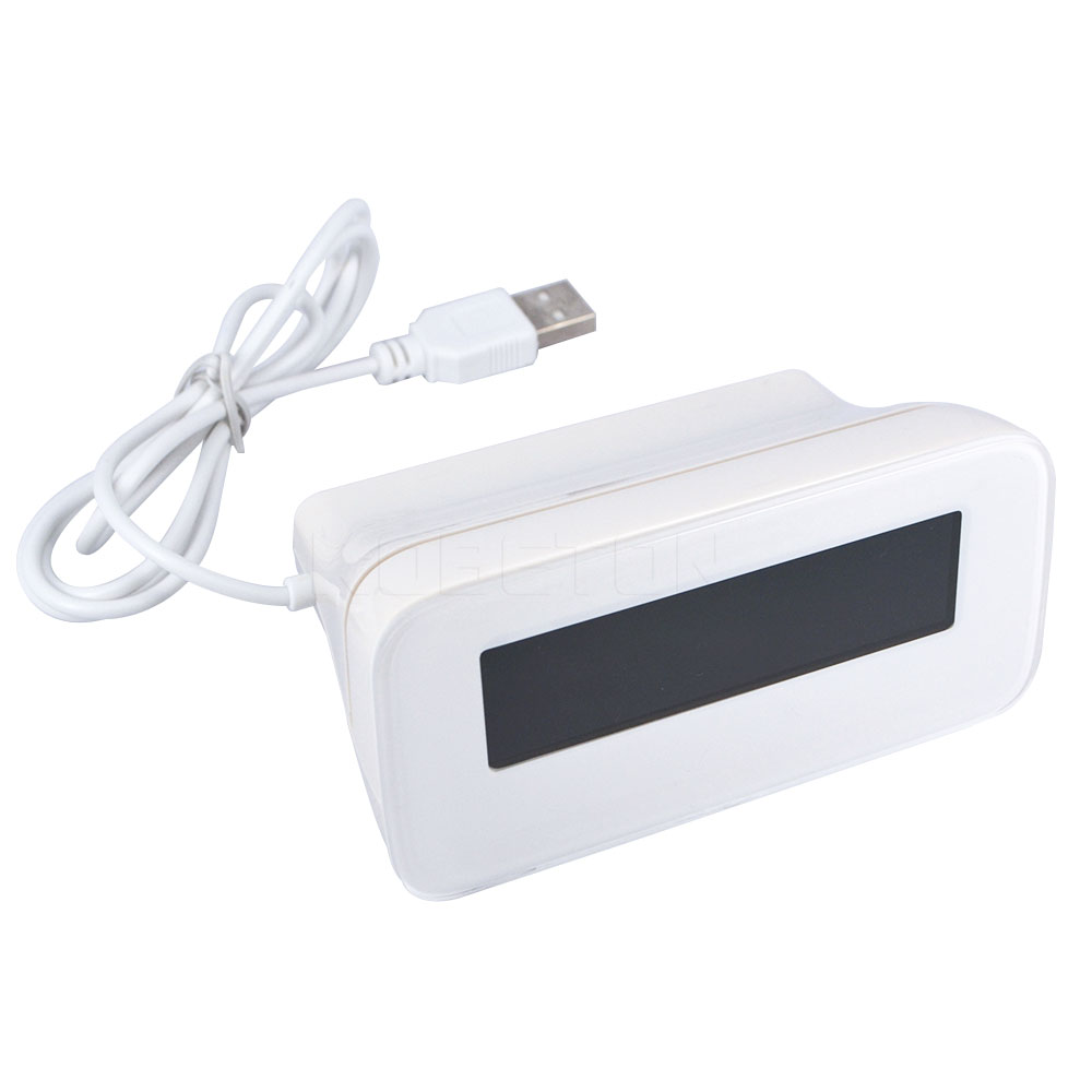 ᗕDigitale klok Alarm Temperatuur Display Blauw/Groene LED ...