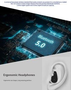 Image 4 - LAUMOX T89 TWS Bluetooth イヤホン 5.0 スマートブレスレットウォッチバイノーラル健康心拍数モニタースポーツスマート腕時計男性女性