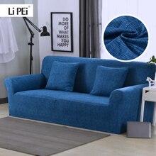 Fundas blandas elásticas universales para sofá, fundas seccionales para muebles de sala de estar, fundas para sofá con forma de L, sillón para el hogar, 1 unidad