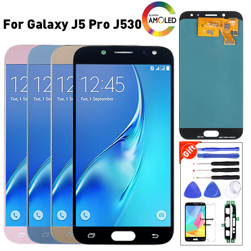 Original pour Samsung J5 Pro 2017 J530 J530F écran LCD remplacement pour Samsung SM-J530GM J530YM module d'affichage LCD