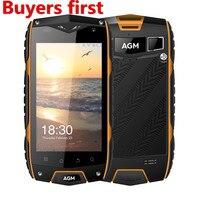 Original AGM A7 4G Mobile Phone 4 0 Inch Waterproof IP68 2GB RAM 16GB ROM MSM8909