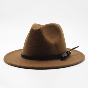 Wool Jazz Hat - Large Brim Fedora