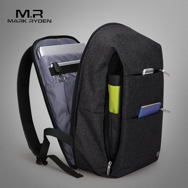 Mark Ryden New Men Backpack For 15 6 inches Laptop Backpack Large Capacity Stundet Backpack Casual