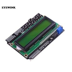 Image 3 - 10 قطعة LCD لوحة المفاتيح درع LCD1602 LCD 1602 وحدة عرض شاشة زرقاء شاشة خضراء ATMEGA2560