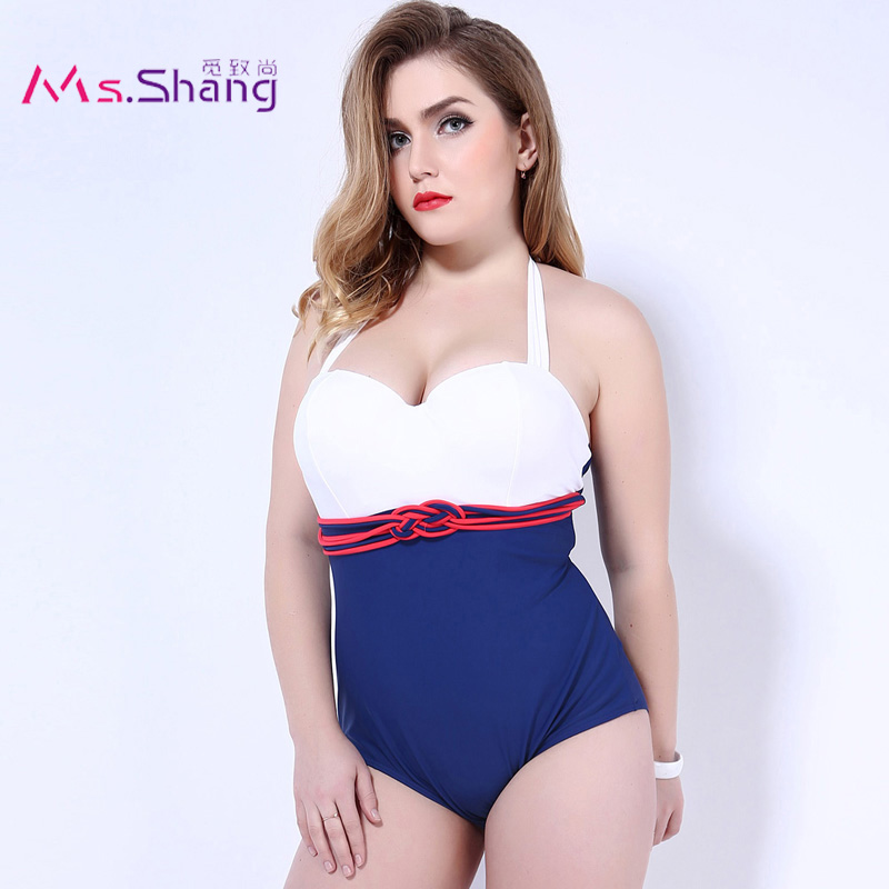 2017 One Piece Swimsuit Sexy Push Up Swimwear Female Plus Size Swimwear Red White May Beach Halter Top Bathing Suits 3XL Bikini 2017 one piece swimsuit sexy push up swimwear female plus size swimwear red white may beach halter top bathing suits 3xl bikini