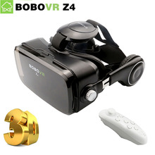 BOBOVR Z4 3D Glasses Google Cardboard Virtual Reality VR Glasses Headset bobo vr z4 mini box Headphone for 4-6 inch Smartphone