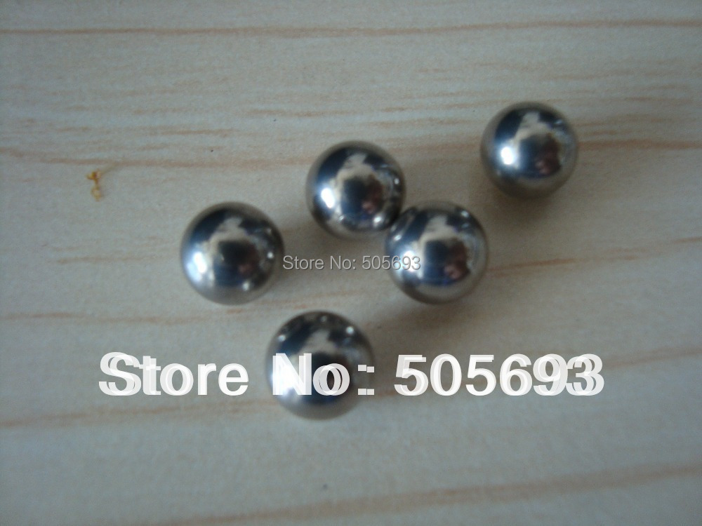 Free Shipping  6.35mm  AISI 304 Stainless Ball Bearing Ball 100pcs/pack