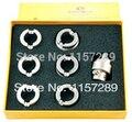 Herramienta de reloj-#5538 muere y adaptador para #5700 oyster reloj abrelatas de la caja caso abridor de conjunto de claves para rolex