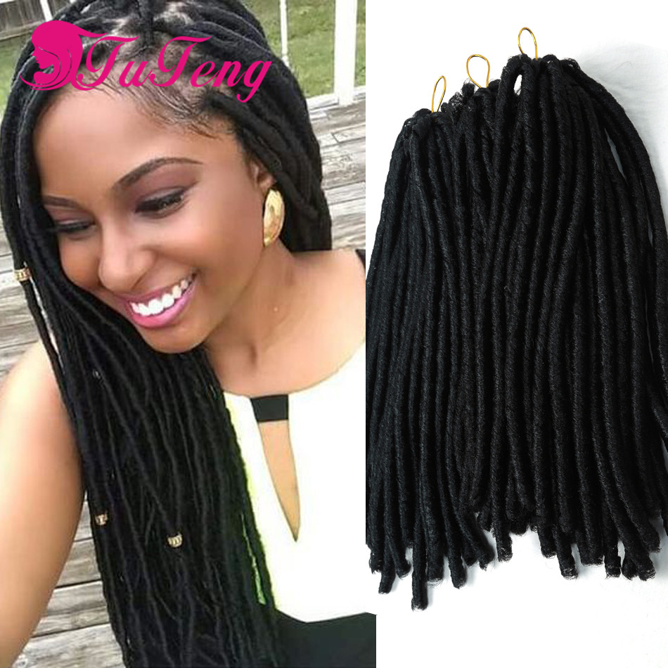 Crochet Braids Faux Locs : Faux Locs dreadlock synthetic braiding hair Crochet Braids dreadlocks ...